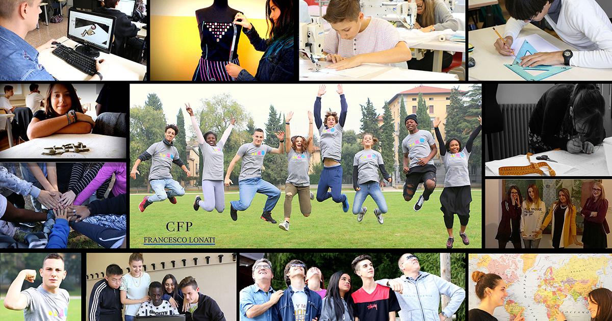 Cfp scuola superiore moda commercio disegno tecnico for Scuola di moda brescia