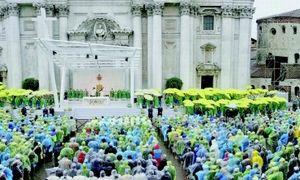 Papa benedetto xvi in visita a brescia for Scuola di moda brescia