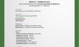 Programma di Magazzini Aperti on tour 2018 - tappa di Brescia