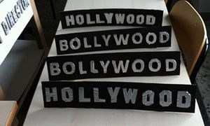 Scritte Hollywood e Bollywood